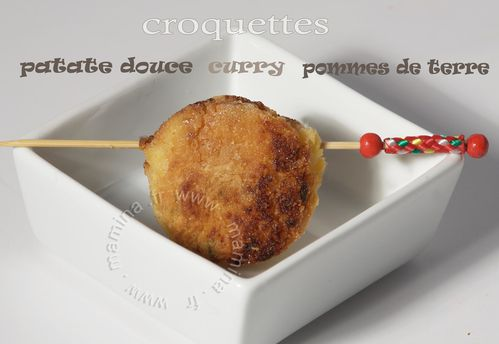 BOULETTE PATATE DOUCE