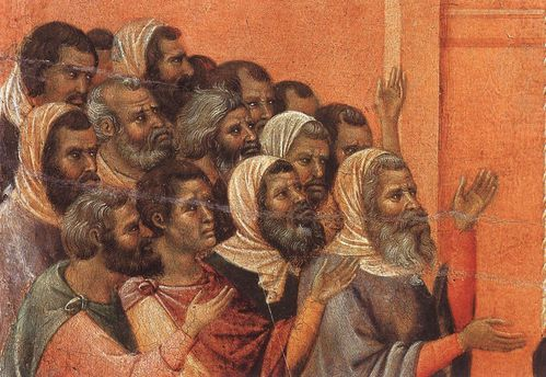Christ Accused by the Pharisees (detail)