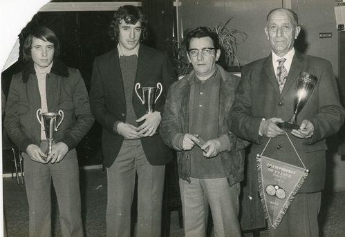 1975.00.00 SAINTES CHAMPIONS DE FRANCE GARRIGOS Michel RIVI