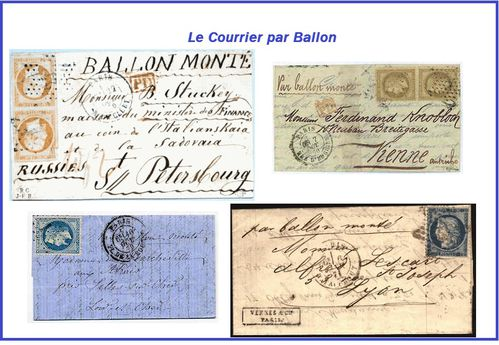 Le courrier pat ballon 8