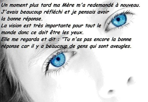 Corps yeux