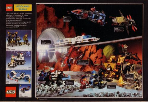 Pub Lego 1989 (journal de Mickey n-¦ 1948 - octobre 1989)