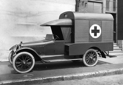 Ambulance Chalmers Montreal 1920