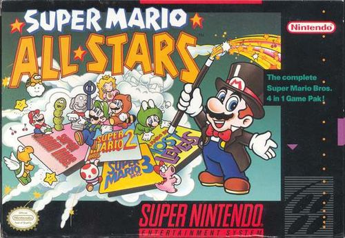 Super Mario All Stars up