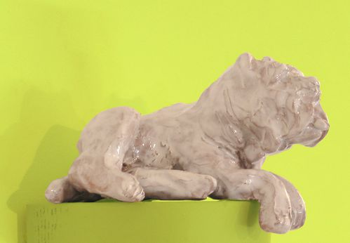 Marie-Ducate-Sculpture-dog-Point-to-Point-Studio
