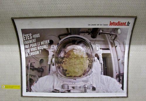 affiche letudiant cosmonaute