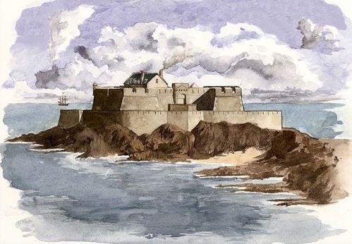 Fort National - dessin