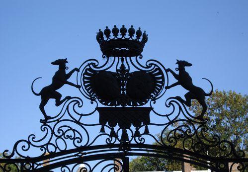 Portail château de Jossigny