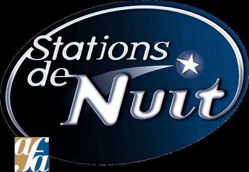Station de nuit black