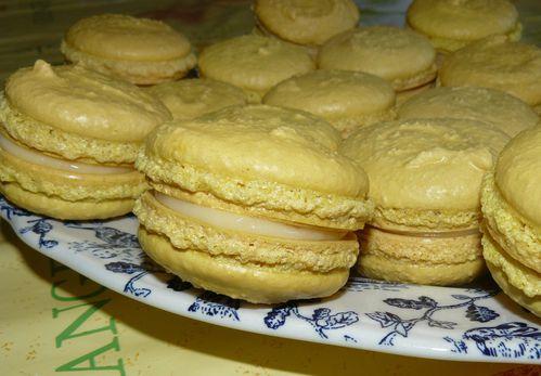 macarons au lemon curd 2