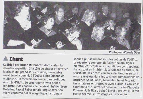 HAITI - article chant