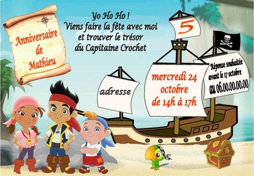 capitaine jack et les pirates