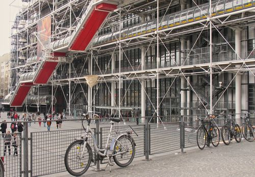 Kawamata Beaubourg huts 4