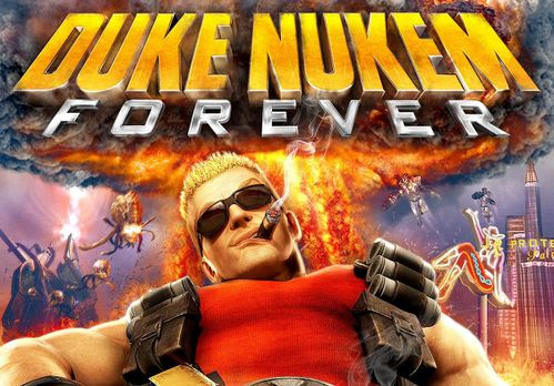 Duke Nukem Forever PC Boxart