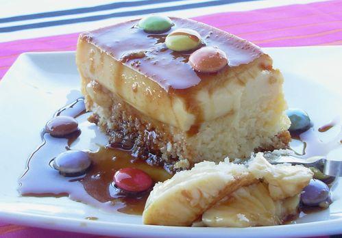 Gâteau-flan à la noix de coco5
