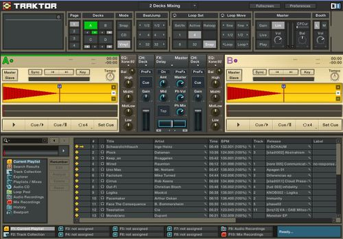 Capture traktor ensemble