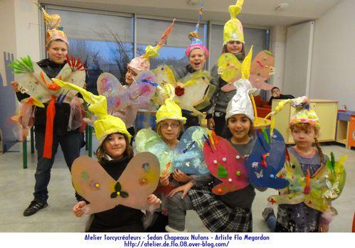 Atelier-chapeau-lutin-origami-Ardennes-artiste-Flo Megardon19