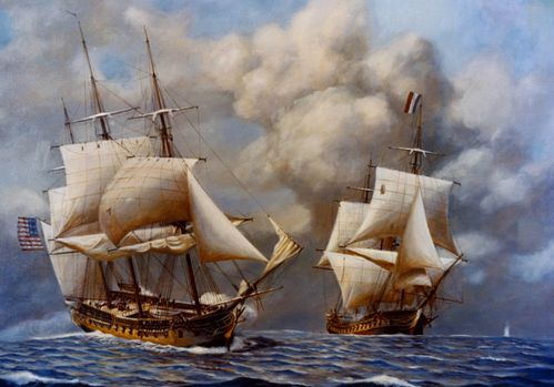 USS Constellation contra Insurgente