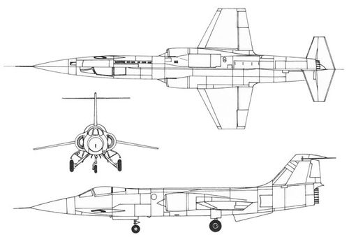 3View-Lockheed-F-104