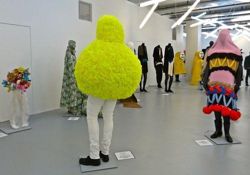 Arrrgh! Gaité lyrique Wurm van Beirendonck cloud jaune