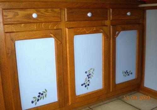 Peinture bois d co portes cuisine un petit coin du ciel de la dr me le blog de viviane - Peinture porte cuisine ...