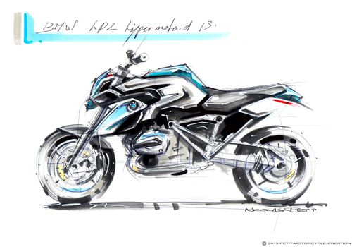 r 1200 gs Hp2 megamoto liquide cooled