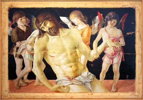 924f7 Christ mort et quatre anges (Bellini, vers 1475)