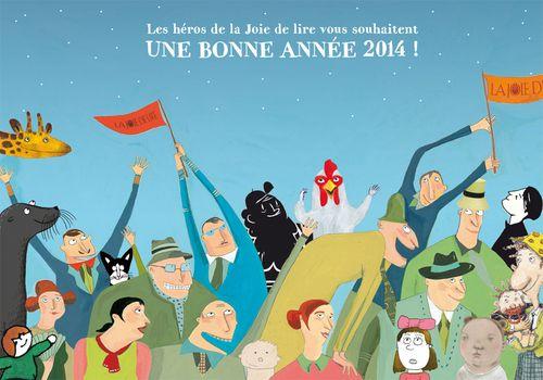 voeux2014 joie de lire
