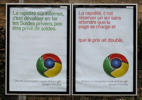 affiche Google chrome 9
