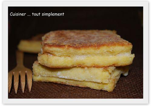 croque pain perdu
