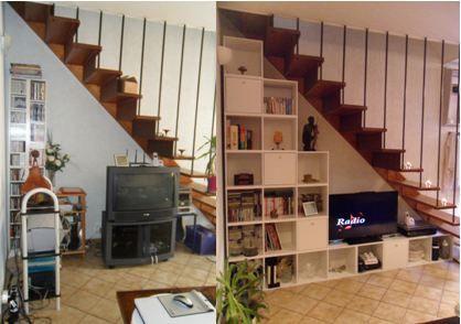 relooking d 39 une maison de ville en location indoors. Black Bedroom Furniture Sets. Home Design Ideas