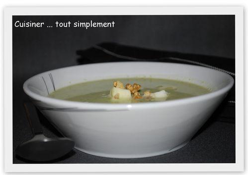 soupe brocolis - gorgonzola1