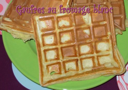 Gaufres au fromage blanc2