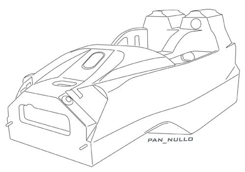 Radical Sr9 Chassis Low