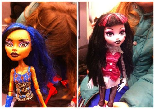 Monster high draculaura robeccasteam