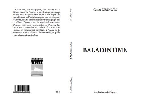 BALADINTIME - couverture