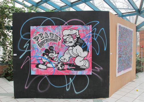 Lilas Urban Activity Speedy Graphito