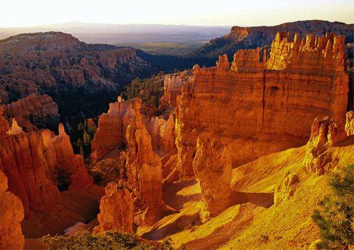 falaises rouges