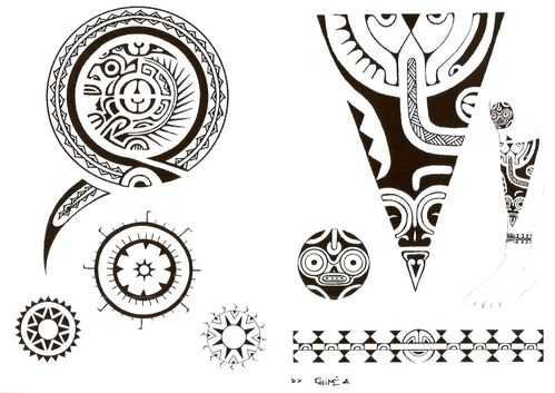 maxalae tatouage polynesien traditionnel la signification du tatouage. Black Bedroom Furniture Sets. Home Design Ideas