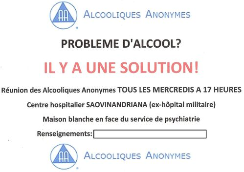 newest new release good service MADAGASCAR Alcooliques Anonymes - Amis/Amigos de Bill W ...