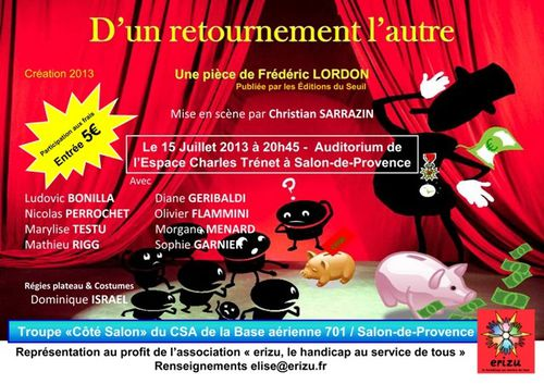 Pi ce de th atre salon de provence par l 39 association - Journee des associations salon de provence ...