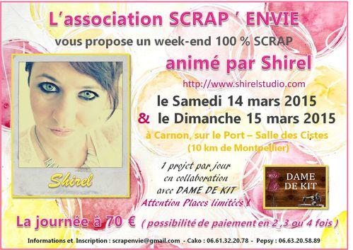 Affiche SHIREL - 14 & 15 mars 2014