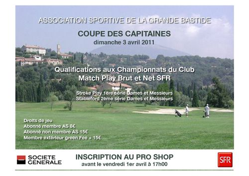 Coupe des Capitaines 2011