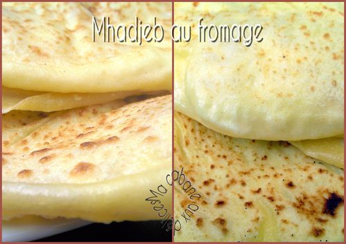Mhadjeb au fromage photo 4