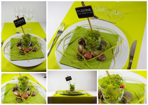 Petite d co de table blog cbodeco - Decoration table printemps ...
