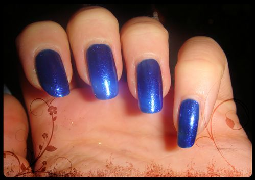 vernis accessorize electric blue