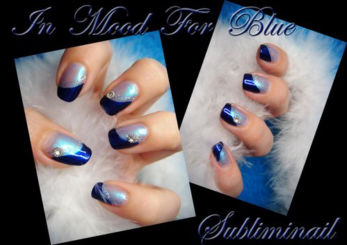 In mood for blue