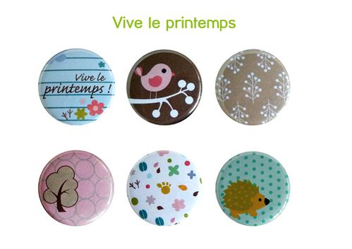 Badges printemps Zibuline BD
