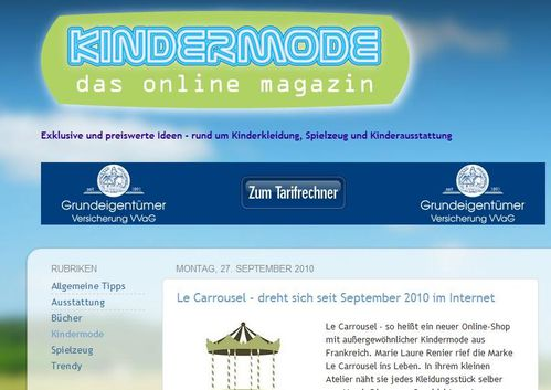 KIndermode 270910