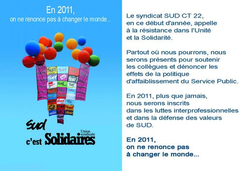 Voeux sud 2011